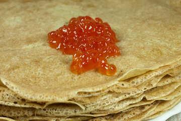 Pancake Caviale №7733