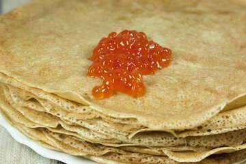 Pancake Rosso Caviale №7732