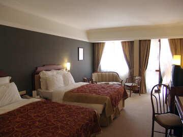 Bedroom   Red  tones. №7938