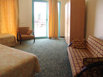 Spacious  number   the hotel. №7891