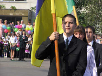 Markierungsfahne Ukraine №7991