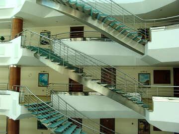 Metal  circular  stairs. №7043