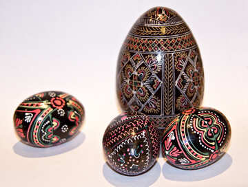 Composition  of the  Easter eggs   Easter №7370