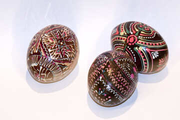 Easter  painted  eggs №7411