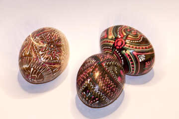 Easter  painted  eggs №7413