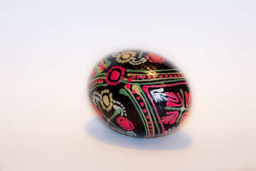 Egg  at  Easter . painted. №7407