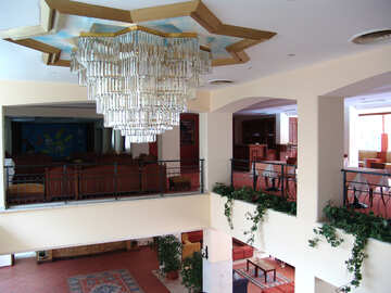 Large  chandelier №7034