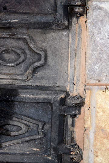 Mounting  Door  furnace №7557