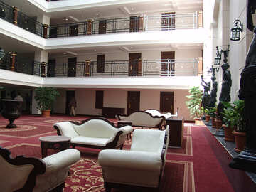Place  to  leisure   Hall  the hotel. №7110