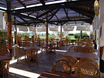 Terrace  Restaurant   canopy. №7018