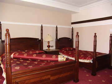 Luxury  bed. №7981