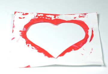 Stampino cuore №7178