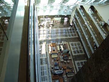 Corridoio Hotel . piccioni Piccioni interno. №7102
