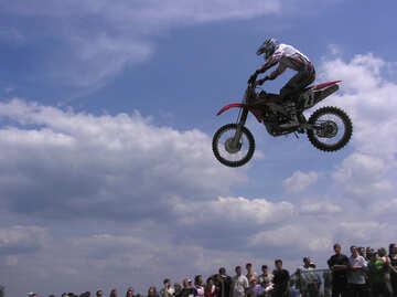 Motorbikes  to  motocross  №7814