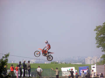 Spectators  at  motocross. №7809