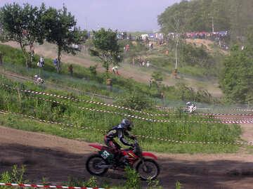 Track  to  motocross. №7812