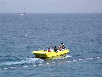 Motore barca acqua intrattenimento. №7846
