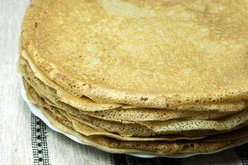 Pancakes  no  stuffing. №7793
