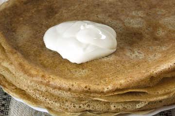 Pancakes . Fingers  lick. №7777