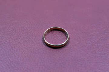 Обручальное кольцо. №7118