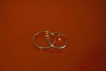 Два кольца. №7134
