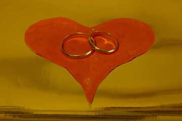 Кольца для венчания. №7146