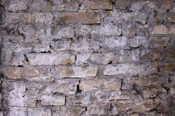Vecchio mattone massoneria struttura №7559