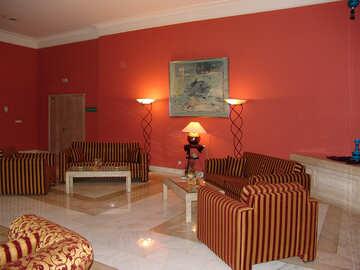 Striped  sofas  №7075