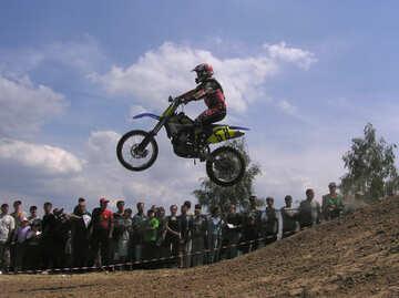 Flight  motorcyclist. №7819