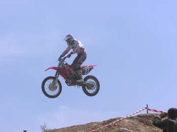 Flying  motorcycle №7822