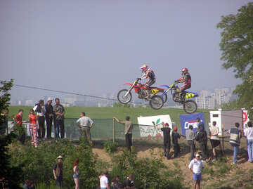 Supercross on  motorcycles. №7808