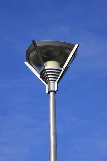 Laterne Straße Beleuchtung Art Hightech- №7477