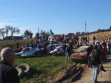 Sport  car  and  audience №7336