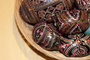 Wooden  Eggs №7415