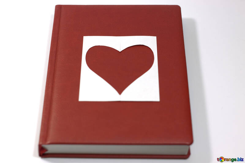 Love  poems , novels . Book   heart. №7132