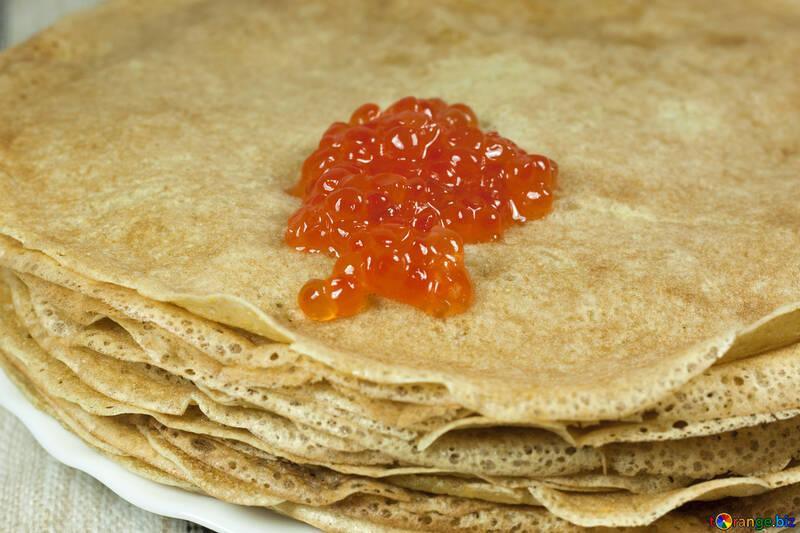 Pancakes   Red  Caviar №7732