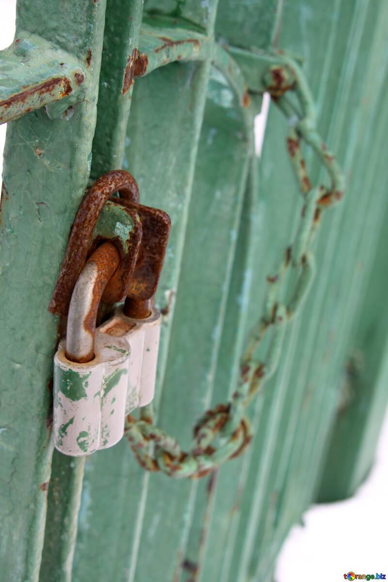 Cadena en puerta №7323
