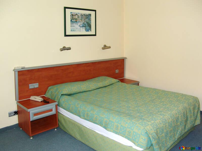 Bedside tables  y  bed №7913