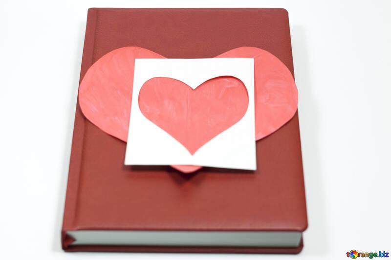 Сердечки из бумаги №7121