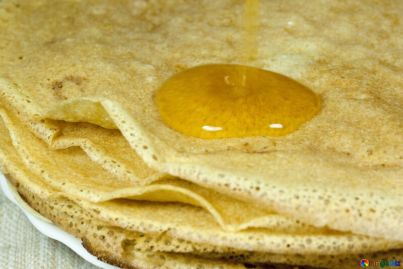 Pancakes   honey №7737