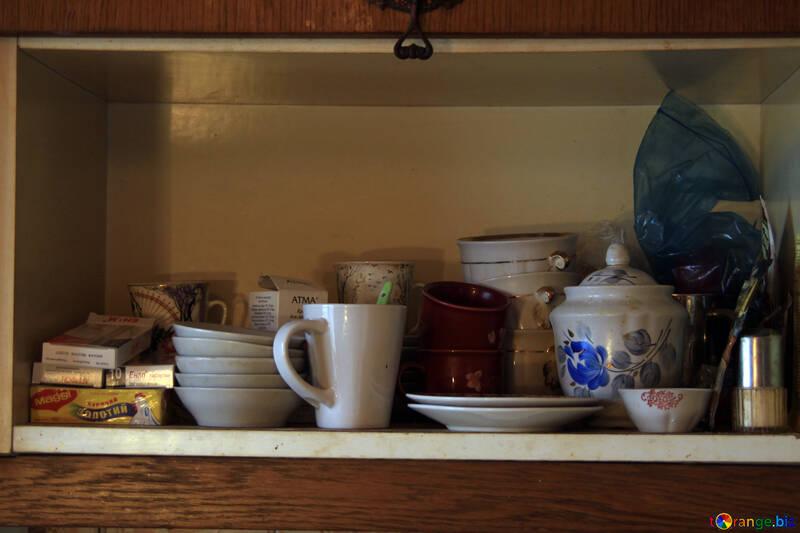 Shelf  at  the kitchen. №7600
