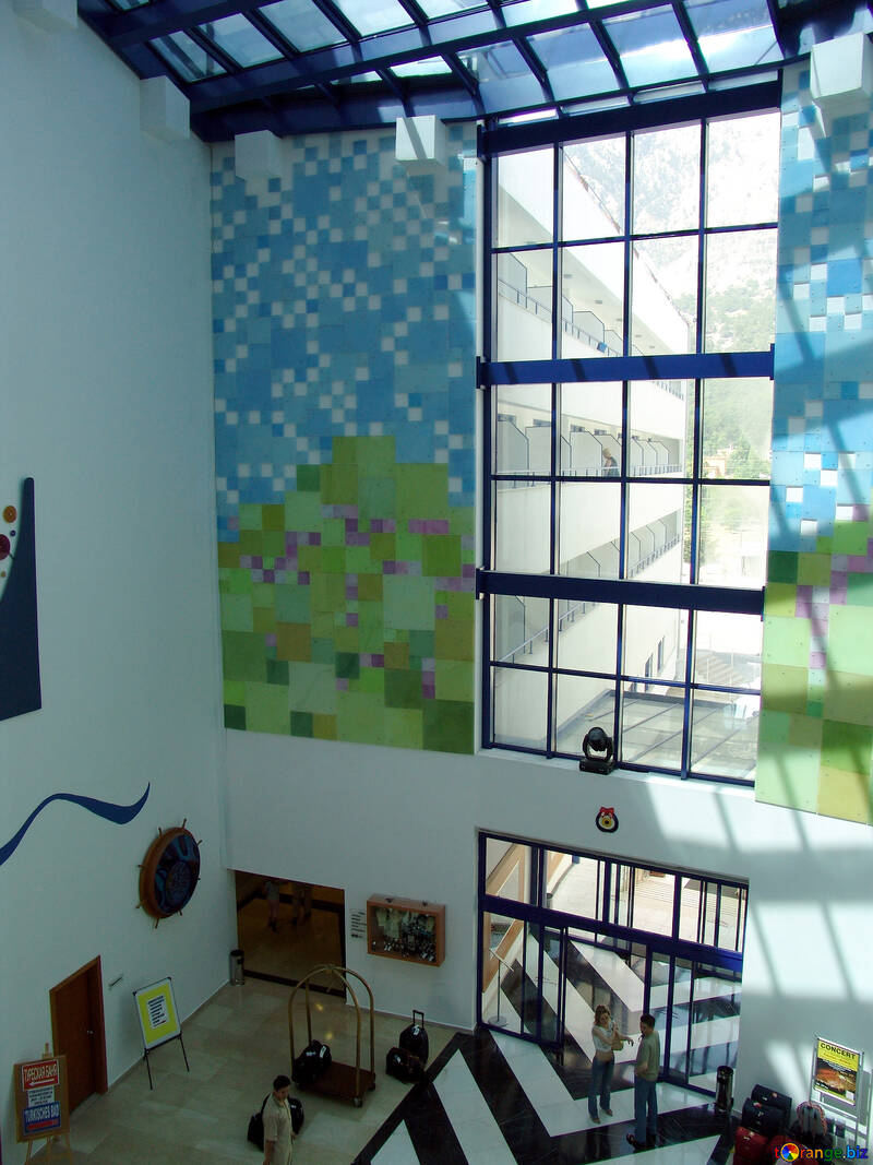 Contemporary  Mosaic  at  walls №7067