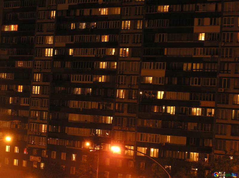 Light   windows  multistory  home №7519