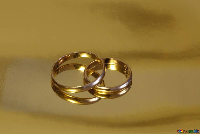 Contrato . oro anillo. №7143