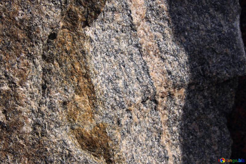 Granite . Texture  , large stone. №7509