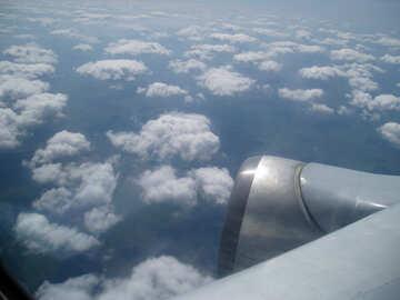 Nubi parte inferiore №8018