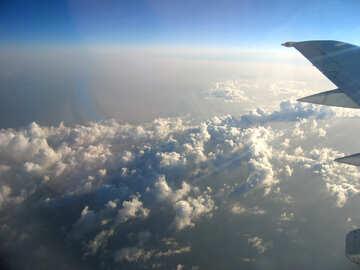 Nubi , vista parte superiore. №8024