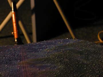 Gocce pioggia ombrello №8055