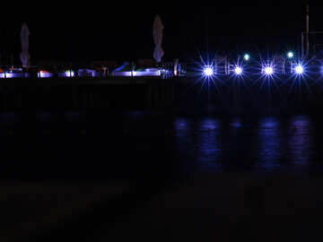 Night quay №8478