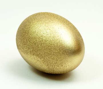 Gold  egg №8241